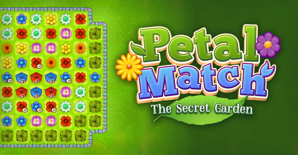 Petal Match: the Secret Garden