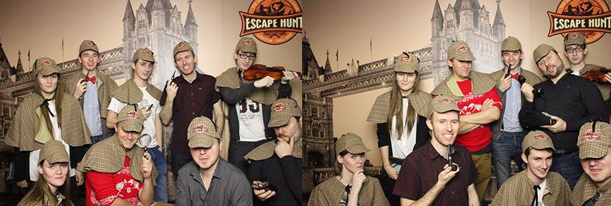 collage escape hunt