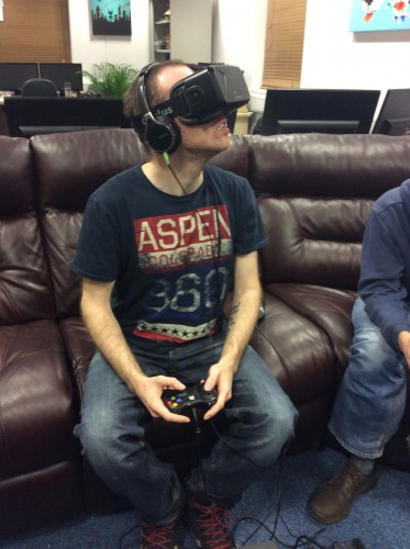 A night in with Oculus