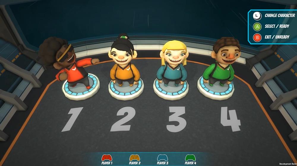 Catastronauts Character Select Screen