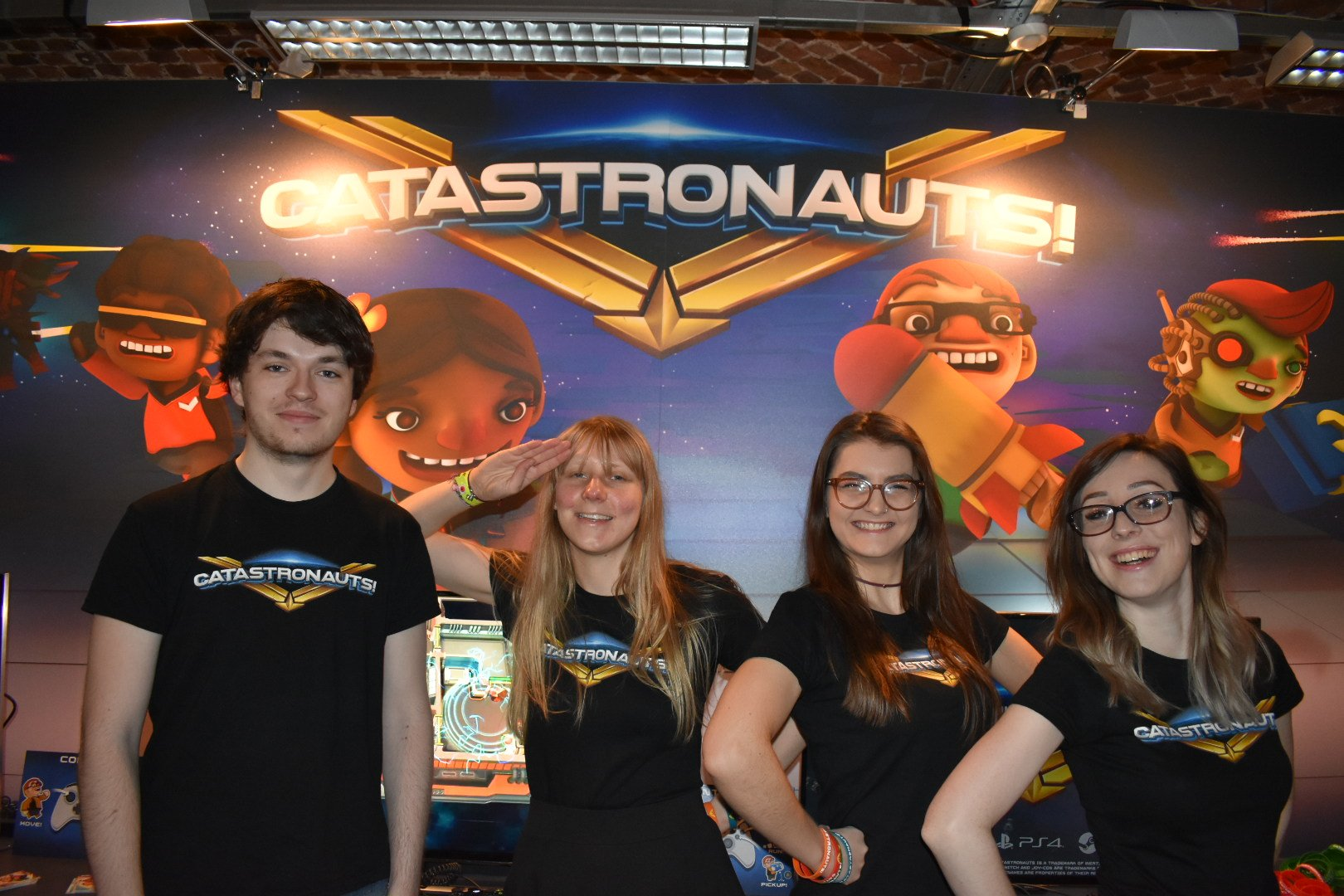 Some of the team at Rezzed