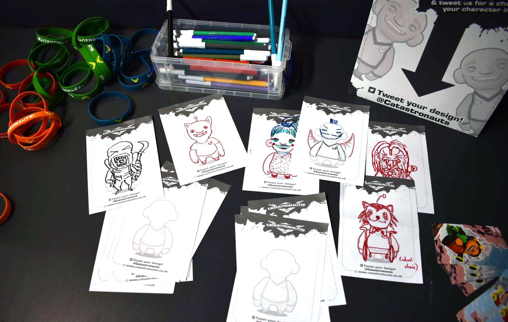 Catastronauts Competition and Merch at Rezzed